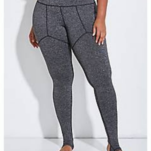 f2a65c5c82d Lane Bryant Pants - Livi Active Sexy Gray Leggings